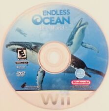 Endless Ocean: Blue World (Nintendo Wii, 2010) DISC ONLY - FREE SHIPPING!!!