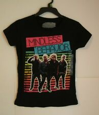 Mindless Behavior Girls Black Short Sleeve Shirt M 7/8 or L 10/12 NWT Free Ship