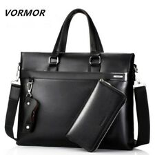 Bag Briefcase Casual Business Messenger Tote Men Shoulder Handbag Leather