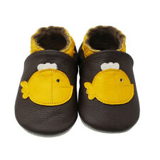Yalion Baby Soft Sole Leather Shoes Infant Boy Girl Toddler Moccasin