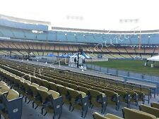 2 Diamondbacks Angeles Dodgers 5/10 Tickets 9th Row Field Aisle Dodger Stadium