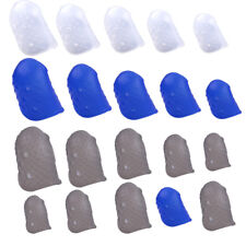 12x Silicone Guitar Fingertip Protectors Finger Guards For Ukulele Accessories
