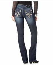 New Miss ME MODERN CROSS BOOT CUT JEANS