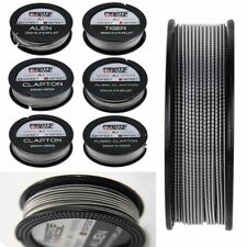 DIY Alien Clapton Tiger Fused Clapton Heating Wire Coil Kanthal A1 15Feet Spool