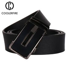 COOLERFIRE New fashion mens belt top cow genuine leather automatic buckle belts