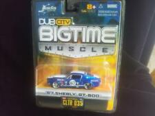 2005 Jada Toys Big Time Muscle 1967 Shebly GT 500 Blue (NEW) MISPRINT Shelby Car