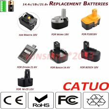 18V 21.v 14.4 V Battery for DEWALT DCB127 Bosch BAT609,BAT618,17618 25618-01 YO