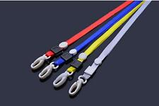 10pcs Lanyard ID Name Badge Business Card Key Holder Case Neck Strap Colorful