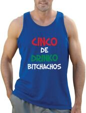 Cinco De Drinko Bitchachos - Cinco De Mayo Singlet Gift Idea