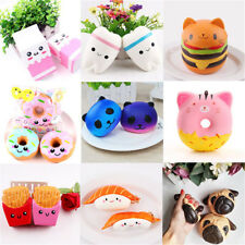 Jumbo Slow Rising Squishies Scented Charms Kawaii Cute Squeeze Toy Collection