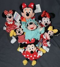 You Pick One Minnie Mouse Bean Bag Plush Disney Store Applause Character Direct