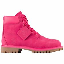 Timberland Big Kids' 6 INCH PREMIUM WATERPROOF BOOTS Pink TB0A1ODEH b