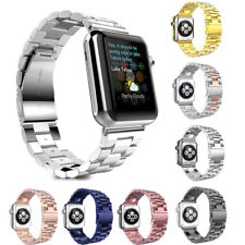Stainless Steel Band Link Bracelet Strap 38mm/42mm For Apple Watch iWatch 3 2 1