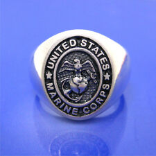 United States Marine Corps Ring - Solid Sterling Silver