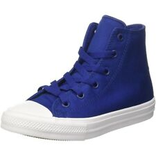 Converse Chuck Taylor All Star II Hi Sodalite Blue Textile Junior Trainers