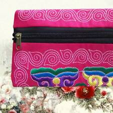 Useful Women Clutch Wallet Florals Embroidery Phone bag Credit Card Holder Purse
