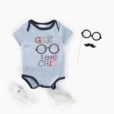 Summer Unisex Various Printing Round Collar Short Sleeves Triangle Baby Romper