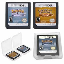 Pokemon Game Card SoulSilver HeartGold For DS 3DS NDSI NDSL NDS Lite