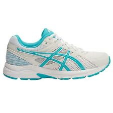 Asics Gel Contend-3 WOMEN'S RUNNING SHOES, WHITE/BLUE - Size US 9.5