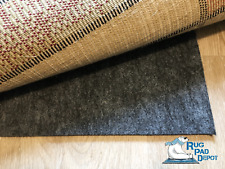 """Non-Slip Rug Pad, Reversible Use, 3/8"""" Thickness, Use On Carpet or Hard Surface"""