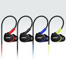 Mic Sports Ear-hook Running Waterproof Earphone Headphone Earbuds Headset