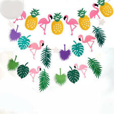 Beach Hawaiian Tropical Flamingo Pineapple Summer Birthday Party Decoration