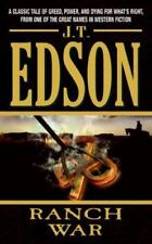 RANCH WAR By Edson J T ***VERY GOOD**BARGAIN PRICED**FREE SHIPPING*****