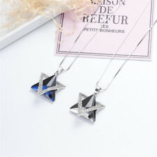 Sparkly Crystal Rhinestone Geometric Triangle Pendant Long Sweater Necklace