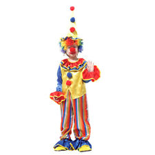 Novelty Kids Circus Clown Costume Halloween Carnival Cosplay Party Fancy Dress