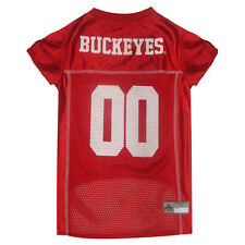 Ohio St. Buckeyes NCAA Pets First Licensed Dog Pet Mesh Jersey XS-2XL NWT