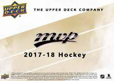 2017-18 Upper Deck Hockey MVP- Pick from List Complete Your Set- Great Condition
