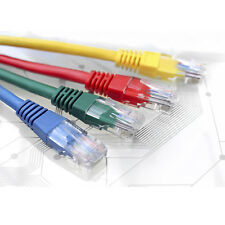 1 3 5 10 Meter Long Ethernet Cat5e RJ45 Cable Network LAN Patch Xbox Wire Lot