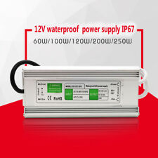Strip light 120W waterproof power supply  LED switching power drive supply