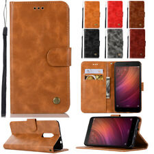 For Xiaomi Redmi S2 6X/Note 4X 5A Leather Case Flip Wallet Magnetic Stand Cover