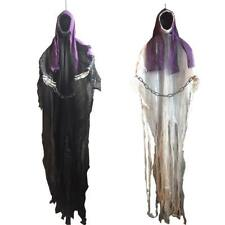 Hanging Black Ghost Haunted House Escape Horror Props Halloween Decorations