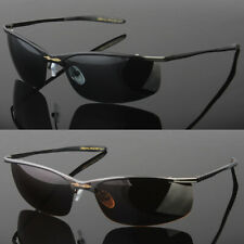 Mens Sunglasses Polarized Wrap Around
