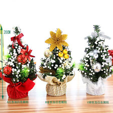 Desk Table Decor Mini Xmas Gift Xmas Decorations Small Pine Tree Christmas Trees