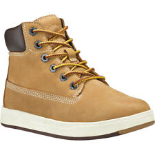 Timberland Davis Square 6 Inch Boot Wheat Nubuck Junior Ankle Boots