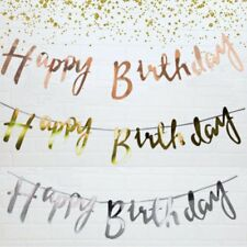 Happy Birthday Bunting Banner Party Decoration Birthday Party Supplies ##NS