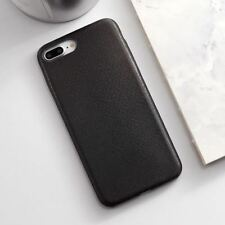 Texture Pu Leather Soft TPU Ultra-thin Canvas Silicone Case For iphone 7