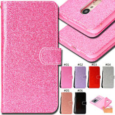 Wallet Flip Stand Glitter Bling PU Leather Case Cover For Xiaomi Redmi 5 Note 5A