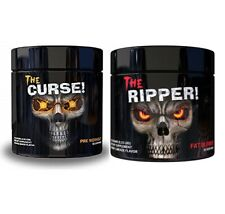 COBRA LABS THE RIPPER + CURSE COMBO PACK! PRE WORKOUT + FAT BURNER - FAST POST