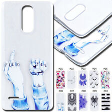 For LG TPU Rubber Shockproof Pattern Skin Case Cover Soft Clear Protective Back