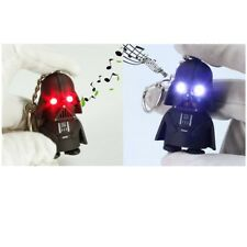 1* Star Wars Darth Vader Light Up LED With Sound Keyring Keychain Key Chain Gift