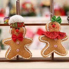 1Pc Festival Gingerbread Man Christmas Tree Hanging Ornaments Pendant Xmas Decor