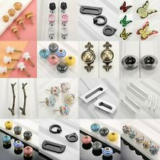Unique Various Shape Furniture Drawer Door Pull Handles Wardrobe Cabinet Knobs