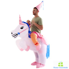 Inflatable Unicorn Halloween Costume Cosplay Suit Party Horse For Adult Men Kids
