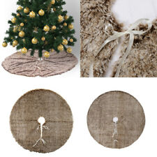 Christmas Tree Skirt Round Tree Ornaments Tree Decoration for Home Decor