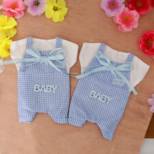 6pcs Baby Clothes Ribbon Candy Bags Gift Bags Baby Shower Birthday Decor