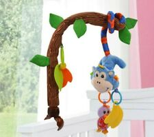 Baby Rattles Toy Bendable Infant Crib Hanging Bed Bell Music Toys